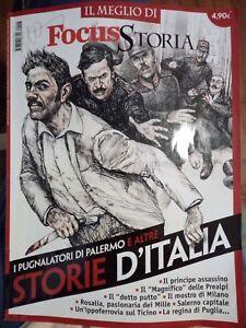 IL MEGLIO DI FOCUS STORIA I PUGNALATORI DI PALERMO E ALTRE STORIE D'ITALIA - Italia - IL MEGLIO DI FOCUS STORIA I PUGNALATORI DI PALERMO E ALTRE STORIE D'ITALIA - Italia