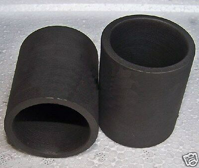 99.9% 50X50mm Graphite Crucible Furnace Torch Gold Copper Melting Smelting