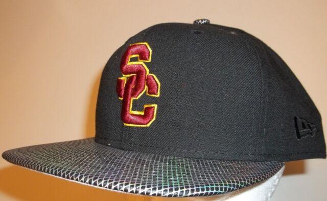 cbb0de80 ... czech new era 9fifty usc trojans southern california cap hat snapback  snap back black cf1e6 9c7eb