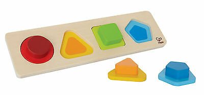 E0502 HAPE First Shape Colour Wooden Puzzle [Early Melodies] Toddler Child 12M+