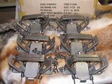 6 New Duke # 4 offset  4X4 Coil Spring Traps  Beaver Bobcat Coyote Wolf NEW SALE