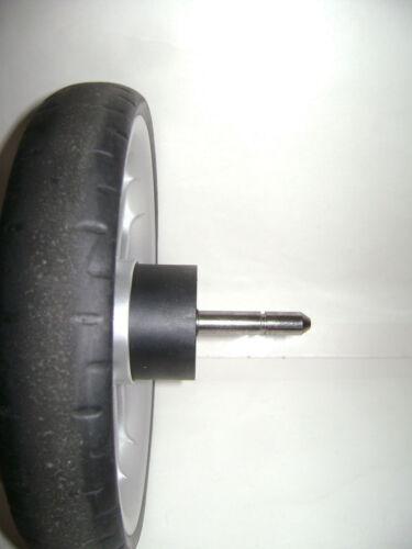 "Britax B Agile Single Stroller 9.25/"" 1 REAR WHEEL Replacement Part Quick Release"