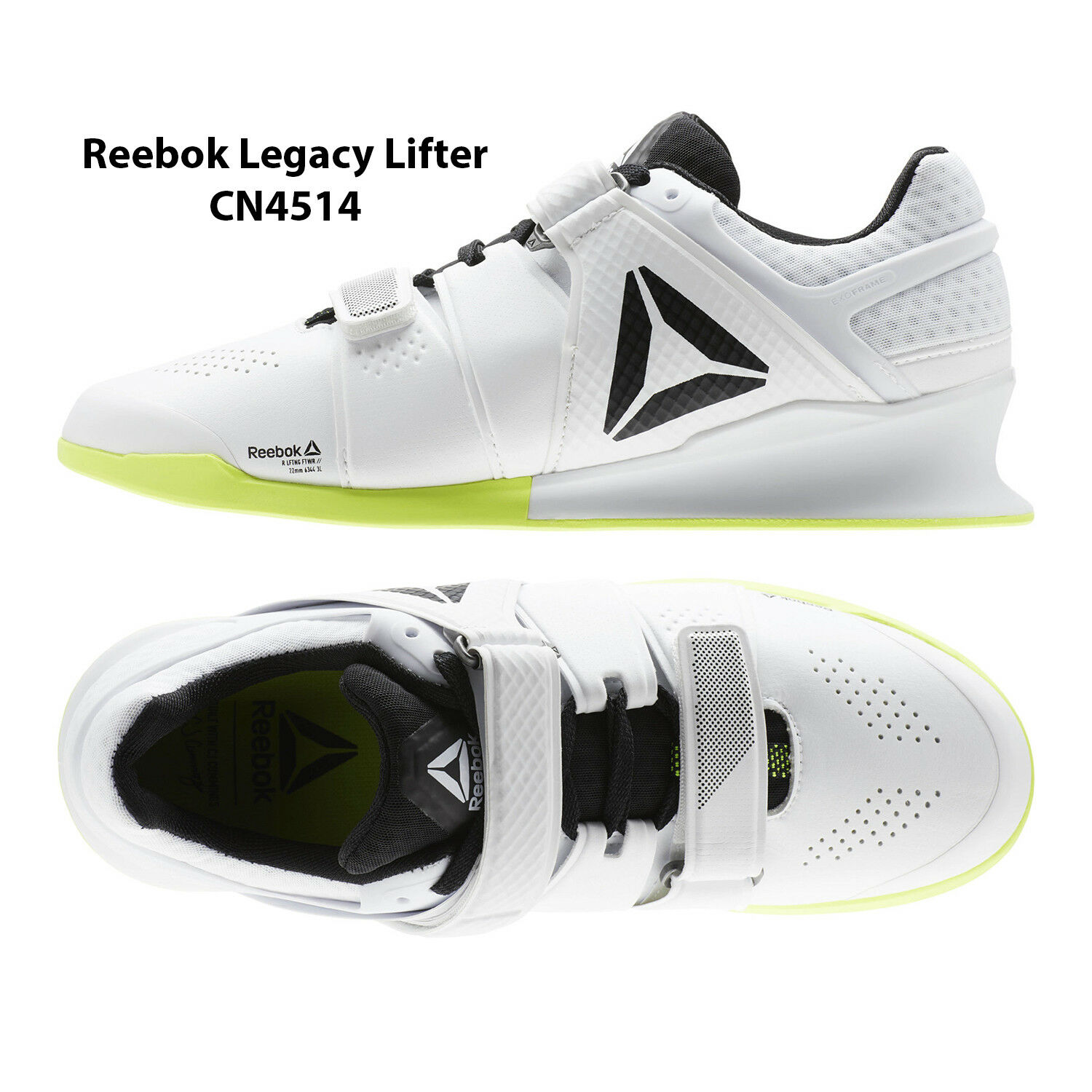 Mens Reebok Legacy Lifter White Crossfit shoes Reebok CN4514 shoes NEW