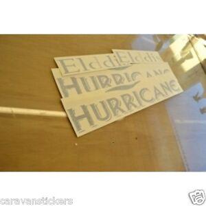 ELDDIS Hurricane Caravan Stickers Decals Graphics SET OF EBay - Graphics for caravanscaravan stickers ebay