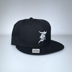 98db5546f Details about Fear Of God x New Era Essentials Fitted Hat Black and White  FOG F.O.G Size 7-8