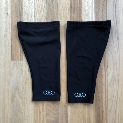 Castelli Audi Cycling Thermoflex Knee Warmers Black L