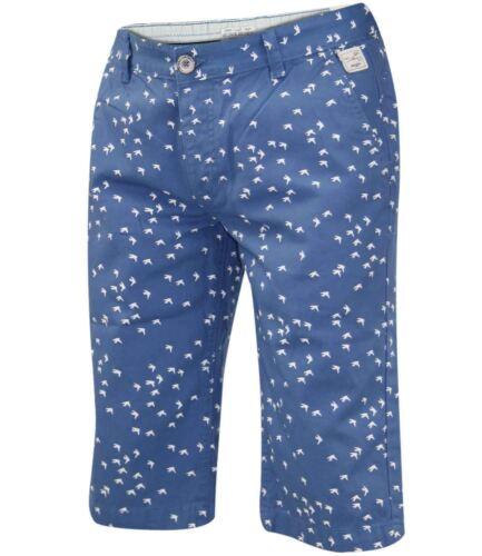 NUOVA linea uomo Kangol T-shirt Girocollo Designer Jack South Stampato 3//4 Pantaloncini Da Spiaggia