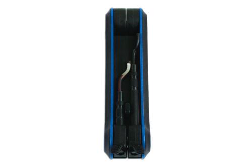Laser Tools 7291 Universal Desbarbado Set Acero Aluminio Plástico De Cobre