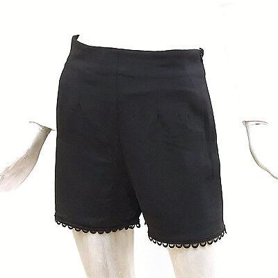 Molly Bracken Pantaloncino Donna Shorts Cady Estivo Nero Bermuda Vita Alta T489   eBay
