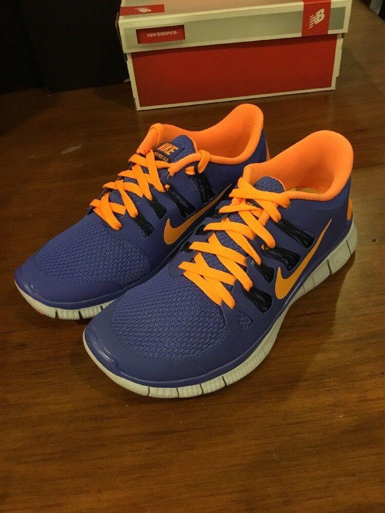 Women's Nike Free 5.0 Shoes Sneakers 580591 580 Size 6