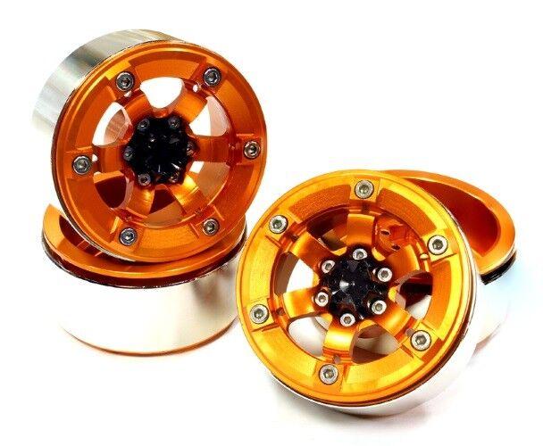 Integy C 25618 Arancione 1.9 tuttiUMINIO 6 ha parlato  ruota alta tipo scala crawler Mass  ampia selezione
