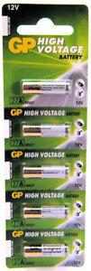 5-x-GP-27A-A27-MN27-L828-12V-Car-Alarm-Key-Fob-Alkaline-Battery