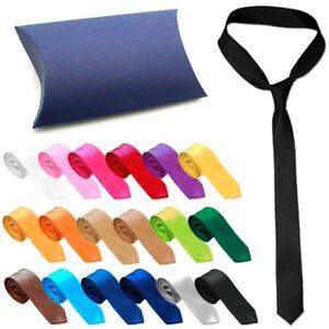 Klassische-Herren-Krawatte-Schlips-in-Geschenkbox-Hemd-Anzug-Business-Hochzeit