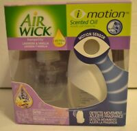 Air Wick I Motion Scented Oil Starter Kit Motion Sensor Lavender Vanilla