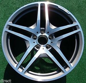 Perfect genuine oem factory mercedes benz amg sl63 sl65 for Mercedes benz genuine wheels