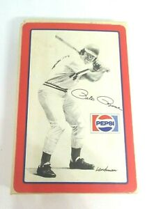 Full-Deck-of-Landsman-Pepsi-Pete-Rose-playing-cards-NOS-complete-1977-sealed