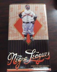 The Resin Negro Leagues Atlanta Black Crackers Santa