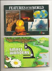 BROOKE BOND CARD ALBUMS SMALL WONDERS full  AND FEATURES OF THE WORLD empty - <span itemprop=availableAtOrFrom>swansea, Swansea, United Kingdom</span> - BROOKE BOND CARD ALBUMS SMALL WONDERS full  AND FEATURES OF THE WORLD empty - swansea, Swansea, United Kingdom