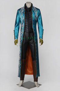 Devil May Cry Vergil Dante Awakening Outfits Cosplay Costume