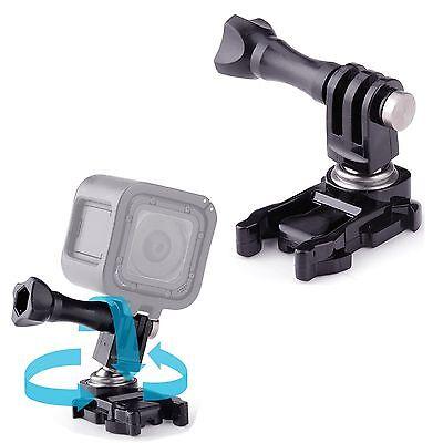 Adaptador de hebilla de montaje de cámara con rotación de 360 ° Rótula para Gopro Hero 6 5 4 3 2