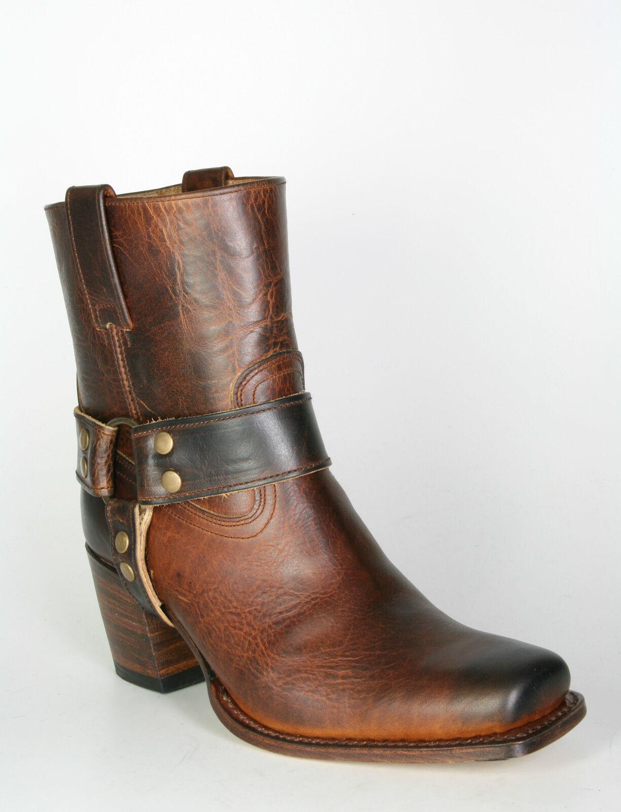 9512 corto Sendra botas Laura Evolution Ladies botas de motorista marrón