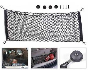 Universel-Voiture-Rangement-SUV-Filet-Flexible-Nylon-Bagage-Stockage-110x50cm