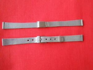 2-LADIES-STAINLESS-STEEL-SILVER-WATCH-BAND