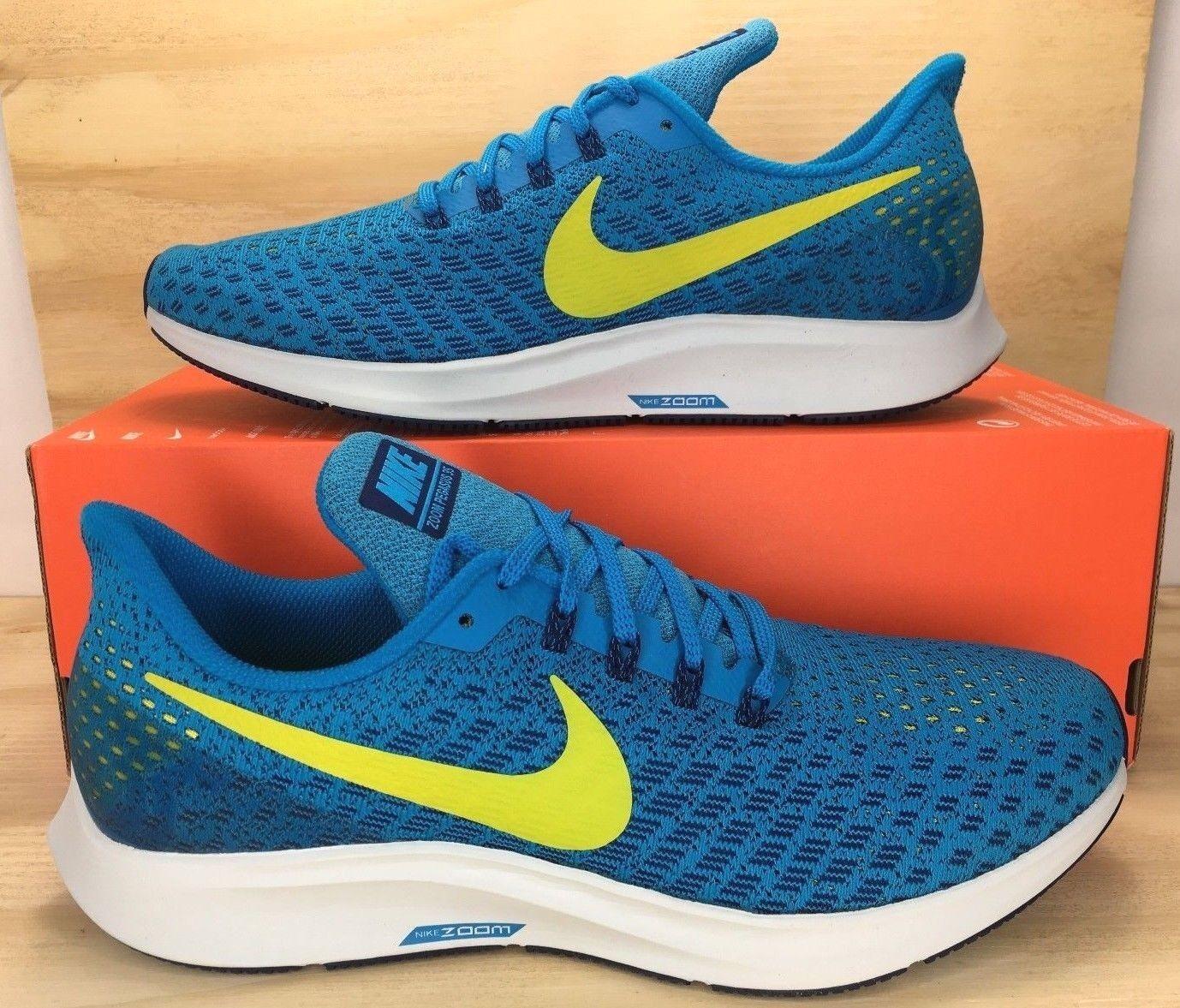 e69253b42149 Nike Air Zoom Pegasus Pegasus Pegasus 35 Blue Orbit Bright Men Running Shoes  942851-400 SIZE 10 0ed0af