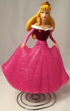 Vintage Disney Princess Figure Electric Eva Bella Lamp Nightlight Pink Dress