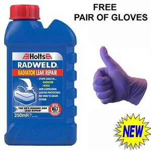 Details about HOLTS RADWELD CAR RADIATOR AND HOSE STOP LEAK REPAIR ADDITIVE  SEALANT LEAKING