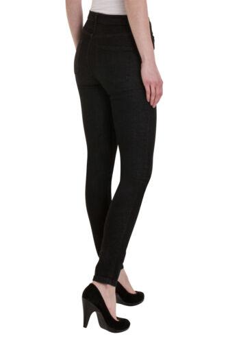 Ex M/&S Mid Rise Ladies Women/'s Skinny Stretchy Denim Jeans Pants Size 6-24 UK