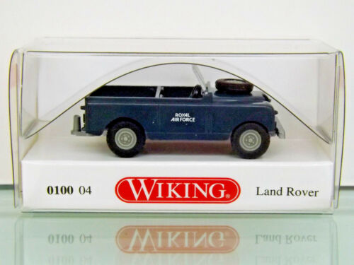 "NEU in OVP WIKING 010004-1:87 Land Rover /""Royal Air Force/"""
