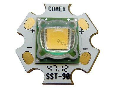 2pcs Luminus PhlatLight SST-90 30W High Power Led 30 Watt Warm White 3000K Light