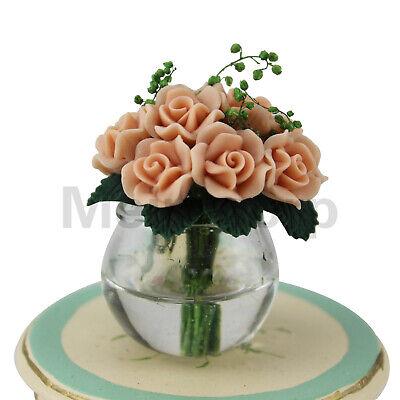 1//6 Scale Miniature Romantic Bouquet Bunch of Flowers Floral Model Mini Toy