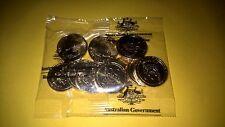 Australia 2017 $1 ''The Spirit Lives'' ANZAC UNC coin sealed RAM bag (10 COINS)*