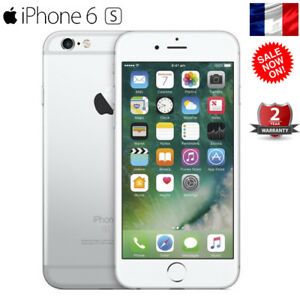 Argente-16Go-iPhone-6S-Apple-Smartphone-4G-LTE-Debloque-Telephone-AAA-Stock-EU
