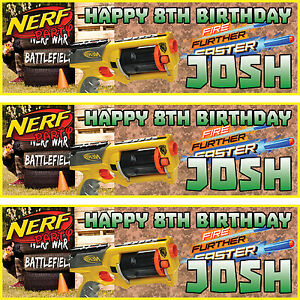 2-x-personalised-birthday-banner-party-nerf-party-boys-girls-any-name-ages