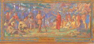IMPORTANT-PASTEL-SKETCH-BY-CHARLES-YARDLEY-TURNER-FOR-HISTORICAL-OHIO-MURAL-CY