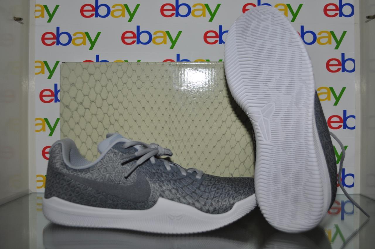 Nike kobe kobe kobe mamba istinto Uomo scarpe da basket 852473-002 grigio / bianco sz 7,5 pennino 3a0ee6