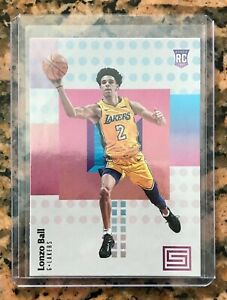 2017-18-Panini-Status-118-Lonzo-Ball-RC-MINT-Psa-In-Top-Loader