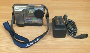 Vintage-Sony-MVC-FD83-FD83-Interpolated-Mega-Pixel-Floppy-Disc-Camera-READ