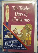 Holiday Greeting Card Pop-up Book-THE TWELVE DAYS OF CHRISTMAS-14 pages