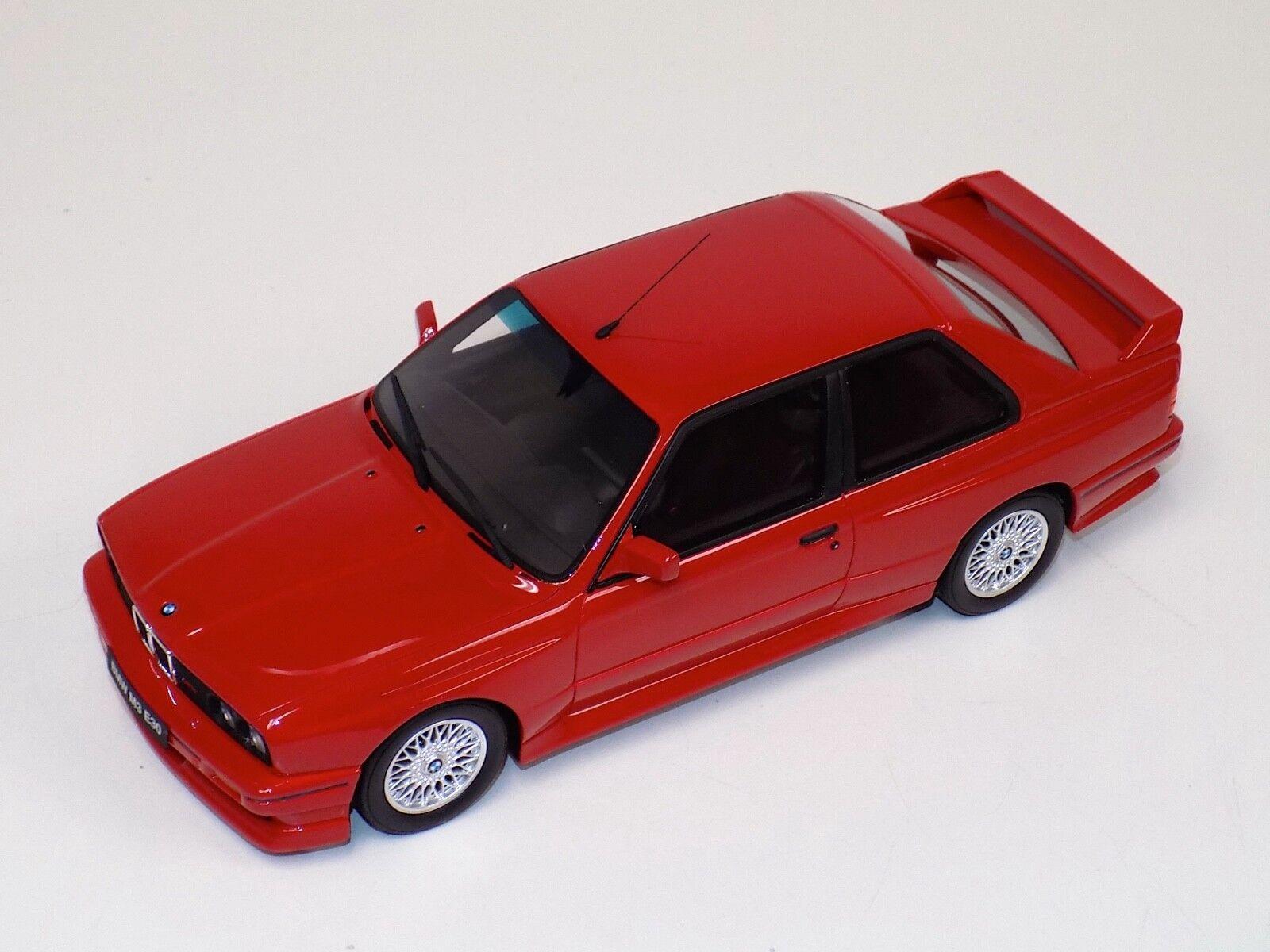1 18 Otto GT Spirit BMW 3M M Series E30 in Red OT695
