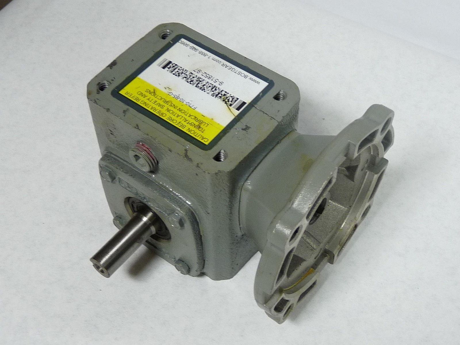 Boston engranaje reductor de engranajes RFB F710-10-B4-6 0.37HP 123lb-In 10:1 RFB engranajes 3e0c09