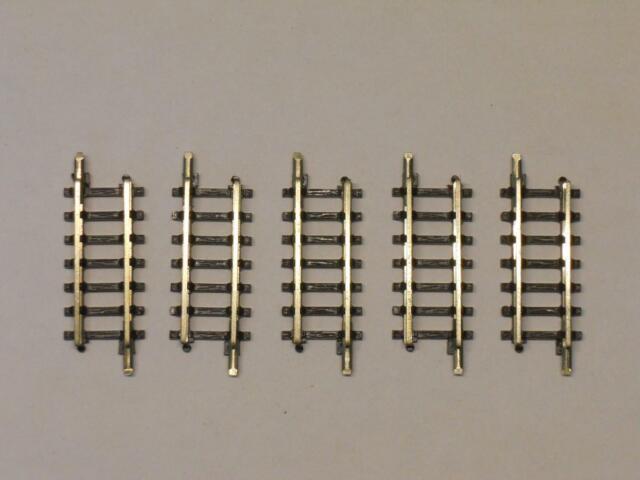 Märklin miniclub 8504 ger. Gleis 25mm TOP 5 Stück (35172)