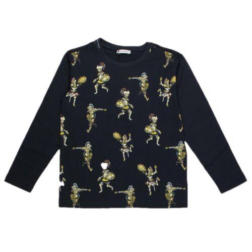 Dolce /& Gabbana Jungen Langarmshirt dunkelblau Shirt Sweatshirt Pullover NP €126