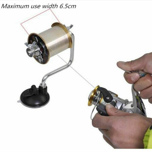 Portable Fishing Line Winder Reel Spool Spooler System Aluminum Tackle Tools