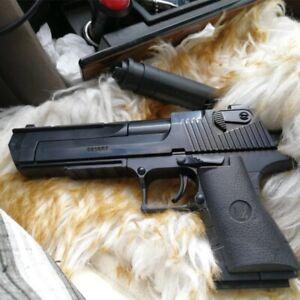 45pcs Desert Eagle Building Blocks Model Assembly Kids Toys Pistol With