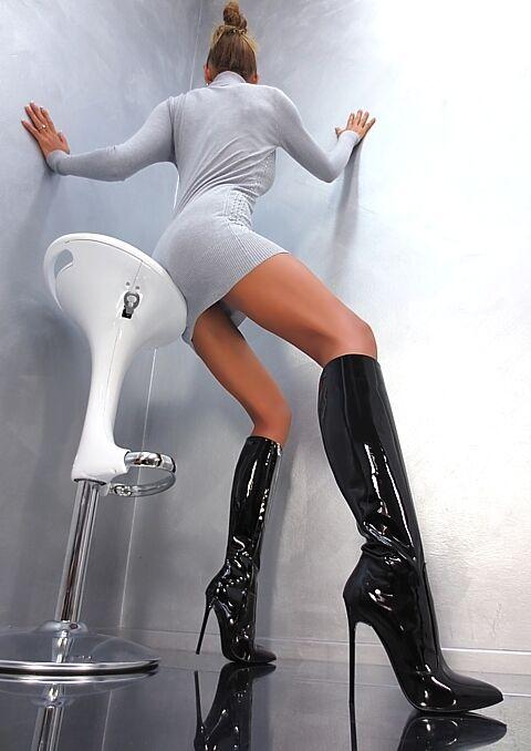 MADE IN ITALY UNIQUE SEXY HIGH HEEL LEDER PIGALLE Stiefel STIEFEL B5 LEDER HEEL SCHWARZ 39 9bf79c