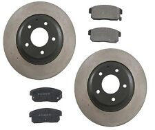 Mazda RX-8 2004-2009 Aftermarket Rear Brake Kit with Rotors and Ceramic Pads